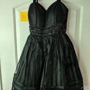 Betsey Johnson Black Cocktail Homecoming Dress